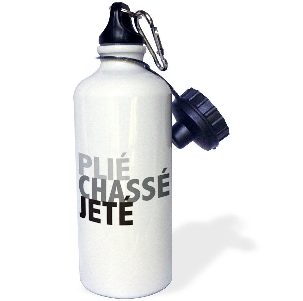 KIKE CALVO World of Dances and Ballet - Ballet Plié Chassé Jeté - 21 oz Sports Water Bottle (wb_219630_1)