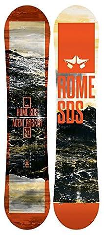 Rome Mini Agent Rocker Snowboard Boys Sz 138cm - Matrix All Terrain Snowboard