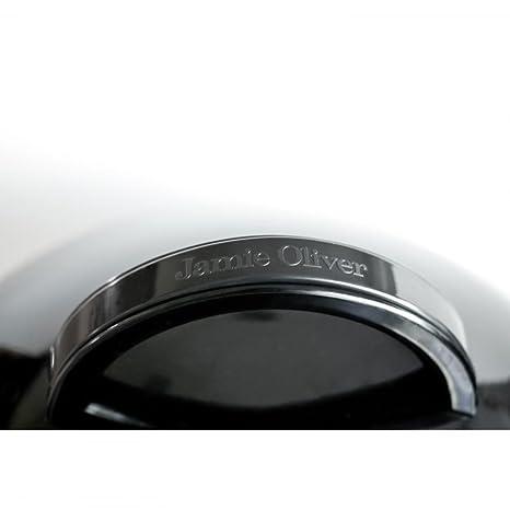 Barbacoa Tall Boy Jamie Oliver - Barbacoa de carbón - Rejillas de ventilación para un control perfecto del calor - Tapadera con termómetro: Amazon.es: ...