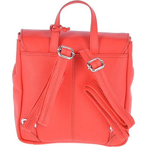 dos Leather à au femme Rouge main pour Sac Ashwood Red porté Yw1Eqqd