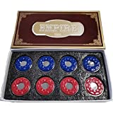 Empire USA Premium Shuffleboard Pucks (Set of 8)