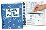 Monthly Bill Organizer & 12 Colors Cash Envelope