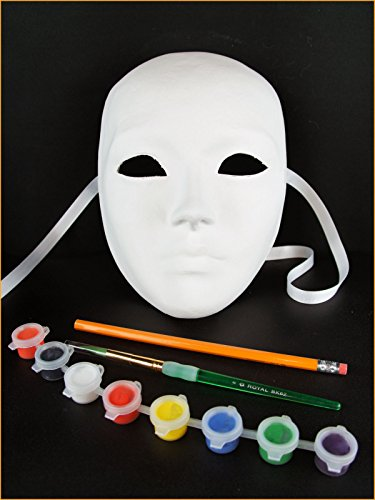 Halloween Costumes Diy Adults (DIY Kit - Full Face Mask Volto)