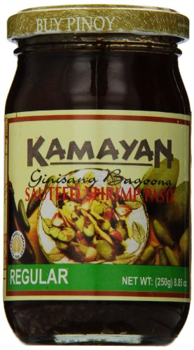Kamayan Sauteed Shrimp Paste, Regular, 8.8 Ounce