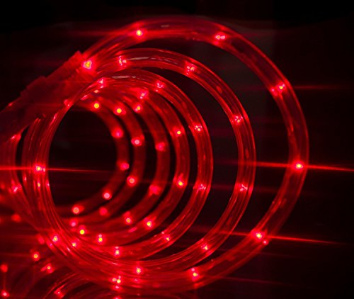 18 Ft Red Led Rope Light in Florida - 1