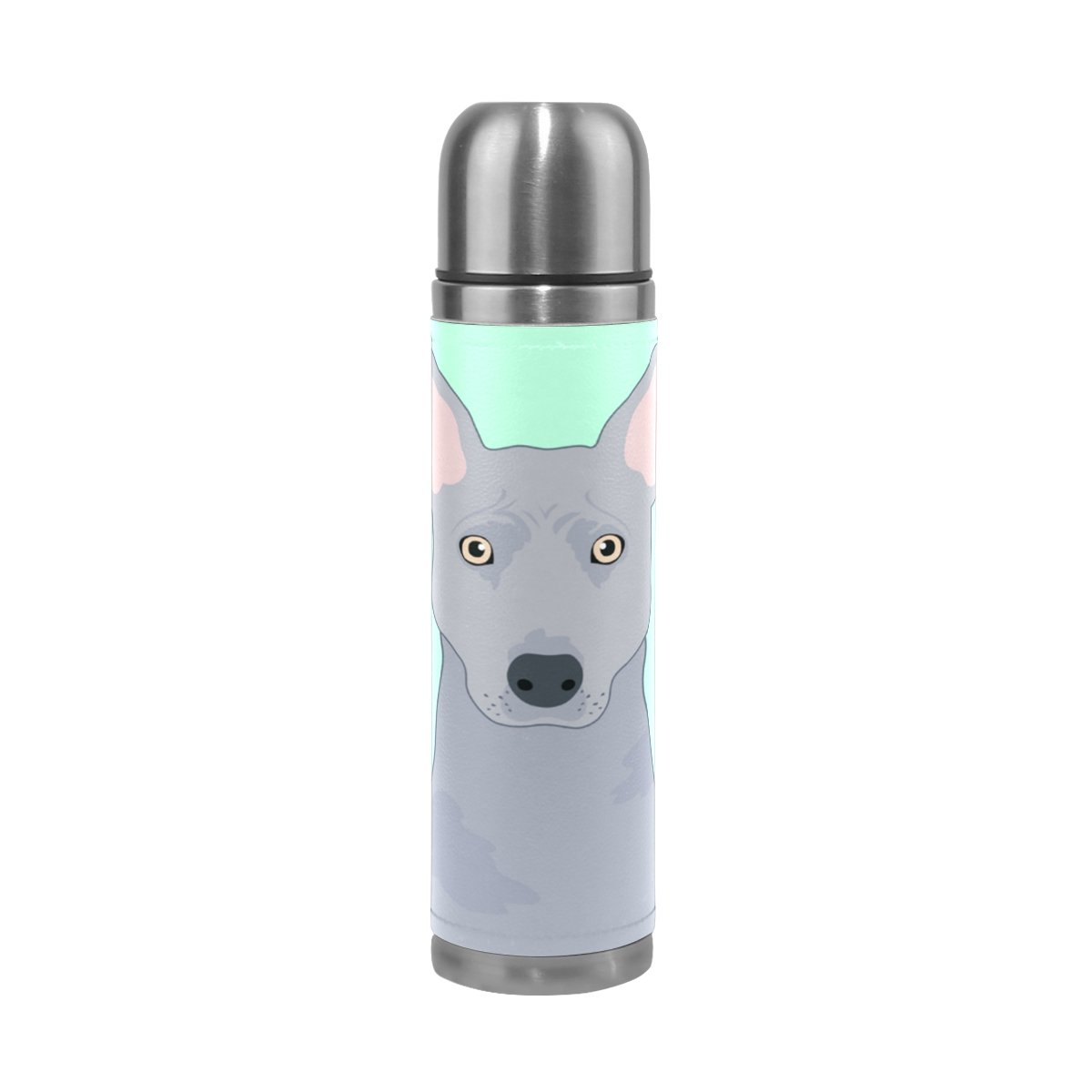 My Daily Thai Ridgeback Dog Vacuum Insulated Double Walled Stainless Steel Water Bottle Leak Proof Thermos Flask 17 oz