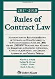 Rules of Contract Law 2017-2018 (Supplements)