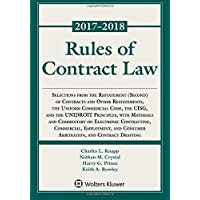 Rules of Contract Law, 2017-2018 Statutory Supplement (Supplements)