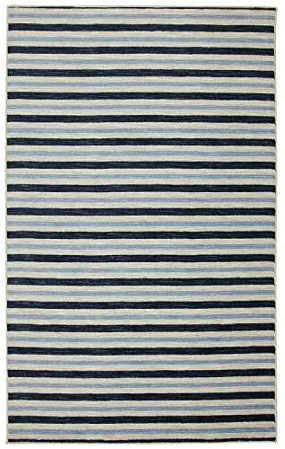 Mohawk Monterey Stripe Blue - Casual Striped Rug