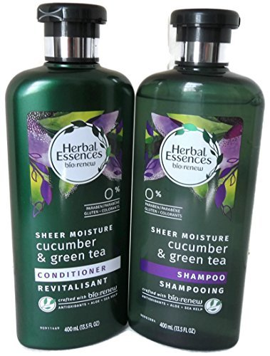 Herbal Essences Sheer Moisture Cucumber & Green Tea Hair Shampoo & Conditioner Set