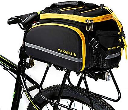 QUALITY GIANT CYCLING PANNIER RUCKSACK HOLDER BAG SINGLE HARD SHELL