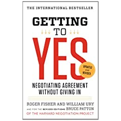 Learn more about the book, Getting to Yes: Negotiating Agreement Without Giving In