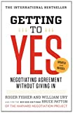 Book cover for Getting to Yes: Negotiating Agreement Without Giving In