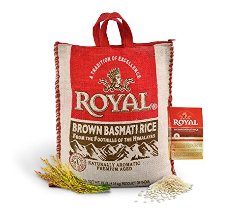 Royal Brown Basmati Rice, 10 Pound (Best Brand Of Brown Rice In India)