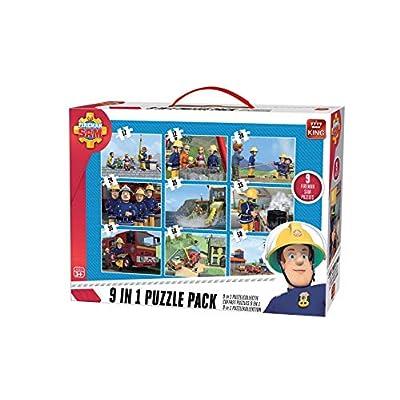 King Puzzle 9 In 1 5642 Multicolore
