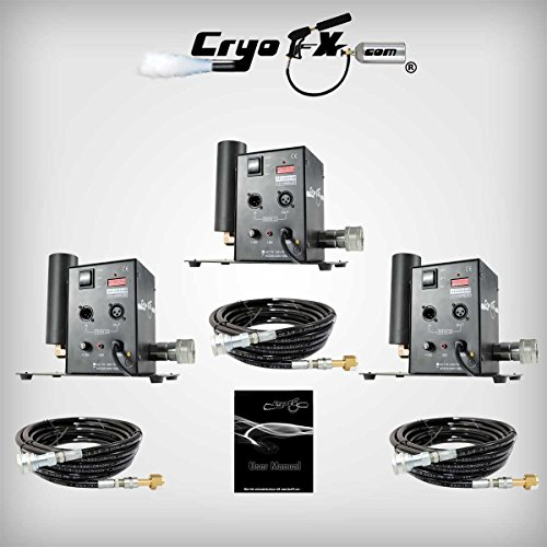 CryoFX CryoPack3.5 DMX CO2 Jet - Cryo Cannon, Cryo Jet Blaster, CO2 Shooter