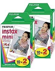 Fujifilm Instax Mini Film (40 opnames) Multi Pack voor Mini 8-9 & alle Fuji-mini-camera's