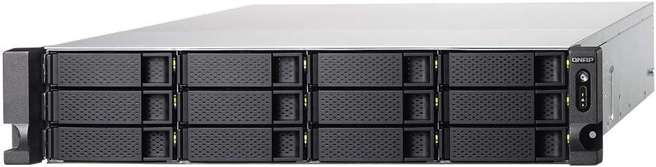 Qnap TS-1277XU-RP-2600-8G-US QNAP 2U 12-Bay Rackmount NAS//ISCSI IP-SAN