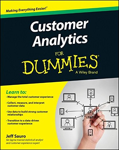 Customer Analytics For Dummies [Jeff Sauro] (Tapa Blanda)