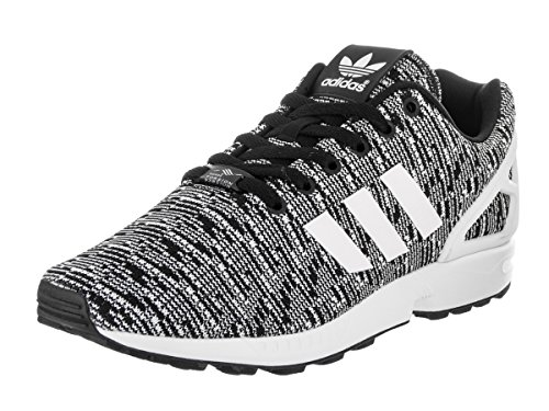 Adidas Men ZX Flux Originals Running Shoe Cblack/Ftwwht/Ftwwht