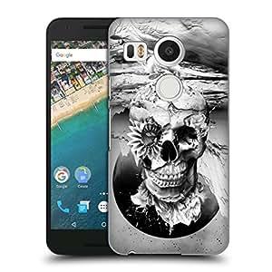 new styles 10d8c 6b93d Amazon.com: Official Riza Peker Black and White 2 Skulls 6 Hard Back ...