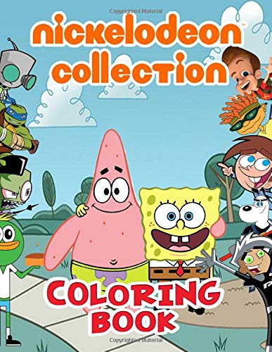 Amazon Com Nickelodeon Collection Coloring Book 90 S Nick Coloring Books For Fans 50 Nicktoons Coloring Pages For Kids And Adults 9798657756142 Will Schneider Books