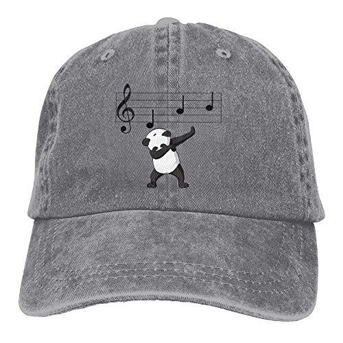 Hat Gorras Adjustable Low Baseball Dabbing Notes Yuting Hat Music béisbol Denim Male Panda 06ndw
