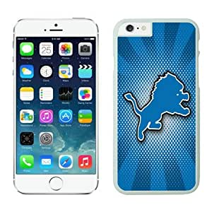 Detroit Lions iPhone 6 Plus(5.5inch) Cases White Cover