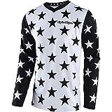 Troy Lee Designs GP Star Men's Off-Road Motorcycle Jersey - White/Black