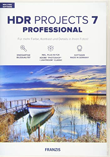 HDR projects 7 professional (Win & Mac)/CD-ROM
