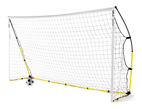 SKLZ Quickster Soccer Goal- Quick Set-Up, Ultra Portable Soccer Goal (12x6 Foot)