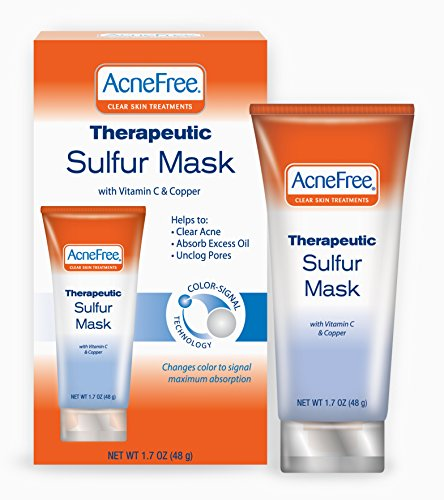 Acnefree Therapeutic Sulfur Mask 1 7 Ounce product image