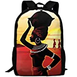 Most Durable Lightweight Personal Business Anti Theft Slim Durable Laptops Backpack - Africa Culture