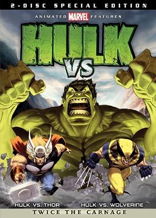 amazon com hulk vs two disc widescreen special edition mark