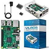 Get Your First Taste Of Raspberry Pi with this Basic Kit from Vilros  This Is the Raspberry Pi 3 Model B Basic Starter Kit From Vilros  It includes the new Raspberry Pi 3 Model B  Raspberry Pi 3 Model B Technical Specifications: SoC: Broadcom BCM2837...
