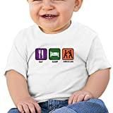 Sfjgbfjs Baby T-Shirt Like Wrestling Soft and Cozy Infant T-Shirt