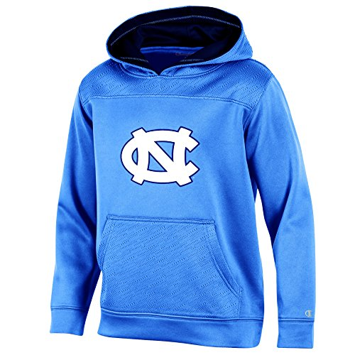 NCAA North Carolina Tar Heels Youth Boys Pullover Hood with Contra, Large, ()