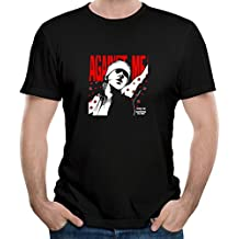 Gody Men's Against Me Is Reinventing Axl Rose Live Sex O-neck Cool Shirts Black M