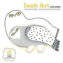 Inuit Art: Cape Dorset 2016 Sticker Wall Calendar