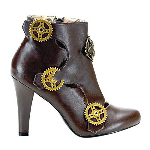 Demonia - Botas para mujer marrón Braun