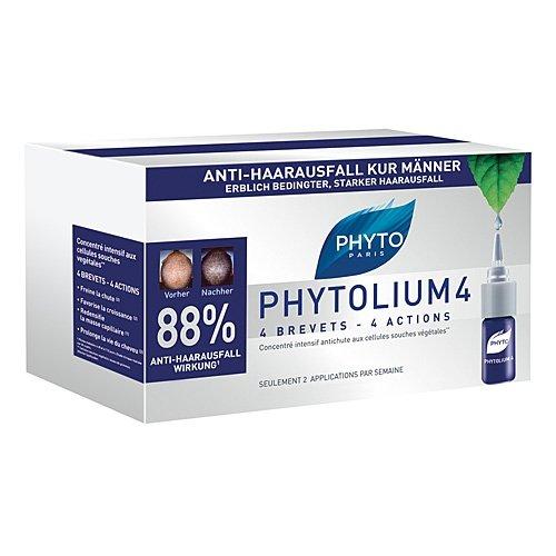 PHYTO PHYTOLIUM 4 Kur Anti-Haarausfall Männer 42 ml Ampullen