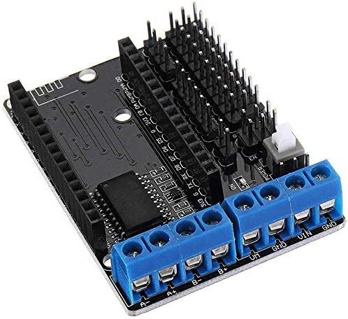 ZT-TTHG ESP8266のWiFiモータドライブ拡張ボードL293D ESP12E Luaの物事スマートカースポットSteuermodul
