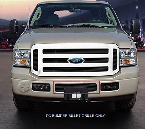 Fedar Lower Bumper Billet Grille Insert for 2005-2007 Ford Super Duty/Excursion (Grille Billet F250 Bumper)