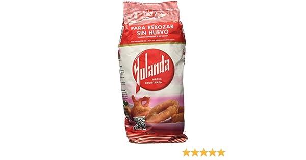 Yolanda Harina para Rebozar sin Huevo - 500 g: Amazon.es ...