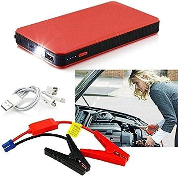Anche per Cellulari Notebook ECC Giallo JEANS DREAM Avviatore Batteria Emergenza per Moto//Auto 500A 6000mAh 12V Adatto a Auto Cilindrata Inferiore a 2.0L