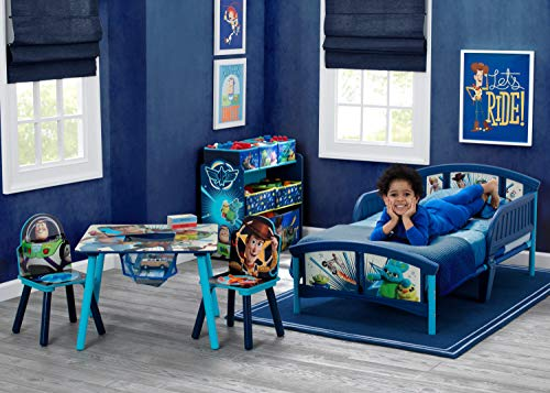 51QyoLfPHwL - Delta Children Kids Chair Set and Table (2 Chairs Included), Disney/Pixar Toy Story 4