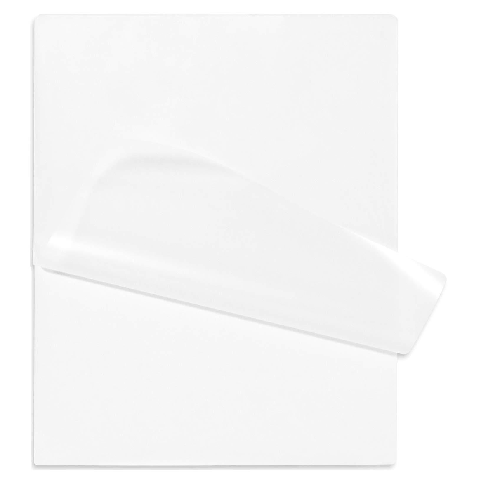 Hot Laminating Pouches 3 Mil (Pk of 100) 11-1/4 x 17-1/4 Laminator Sleeves Mini Menu Size Clear Glossy by Oregon Lamination Premium
