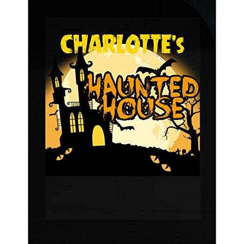 Prints Express Charlotte S Haunted House Halloween Funny College Humor - Sticker]()