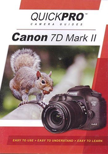 Camera Guides Quickpro - Canon 7D Mark II Instructional DVD by QuickPro Camera Guides