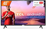 """Smart TV LED 40"""" Full HD Android TCL 40S6500, Wi-Fi, HDR, Inteligência Artificial, 2 HDMI,"""